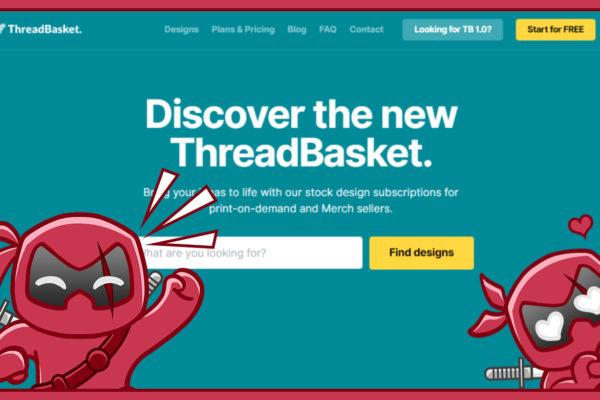ThreadBasket - T-Shirt Designs kaufen für Print On Demand und Merch By Amazon